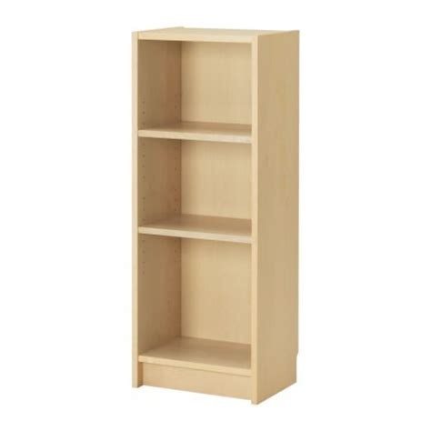 Kallax Shelf Unit Birch Effect Small Bookcase Window Birch Bookshelves