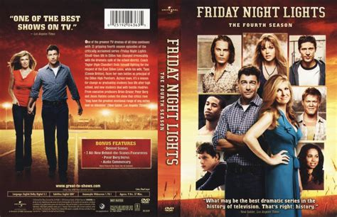 friday lights season 4 friday lights season 4 tv dvd scanned covers