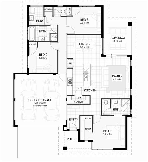 3 Bedroom Home Design Plans Bedroom 3 Bedroom 2 Bath Floor Plans 2 Bdrm 2 Bath House Plans Luxamcc