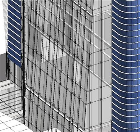 glass fin curtain wall bimable data driven design various curtain wall systems