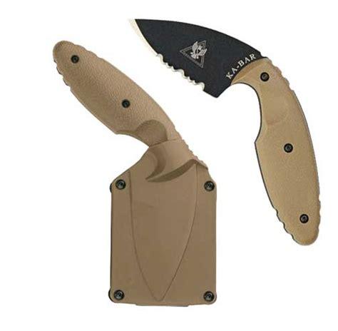 kabar tdi kabar coyote brown tdi tactical knife kabar 1477cb