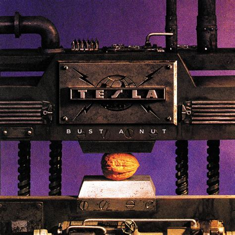 Tesla New Cd Bust A Nut Album Cover By Tesla
