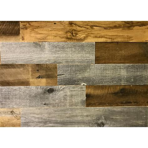 reclaimed wood divider nuvelle decowall rawhide 3 8 in t x 12 in w x 21 5 in l