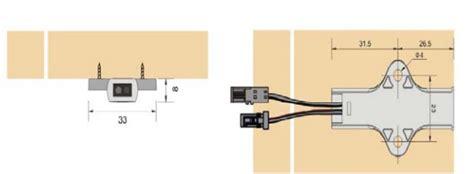 cabinet door operated light switch cabinet ir sensor switch door activated volka lighting
