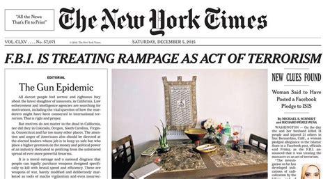 new yorki times new york times assume posi 231 227 o politica contra as armas panorama
