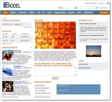 company intranet template 70 best images about ux intranet homepage on