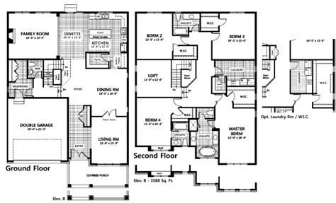 tamarack floor plans tamarack home plans house design plans