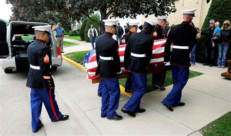 marine touched the lives of everyone he knew