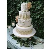 Amazing Vintage Wedding Cake Tess By Karenss Kakes