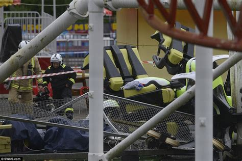 theme park uk accidents motherwell rollercoaster derails at m d theme park and