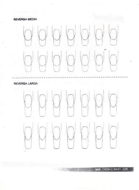 printable nail art practice sheet 23 best images about nail practice sheets on pinterest