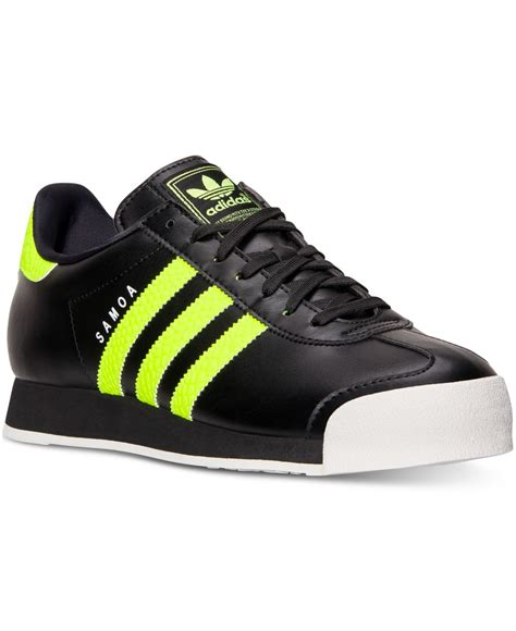 Adidas Slop Xiun Black Slip On Casual Formal Kets Sneakers Kerja lyst adidas s samoa casual sneakers from finish line in black for