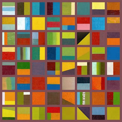 color collage color study collage 65 painting by calkins