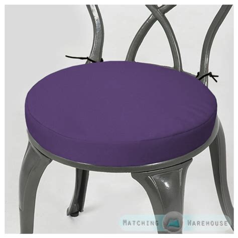 purple bar stool cushions garden chair cushion pad only waterproof outdoor