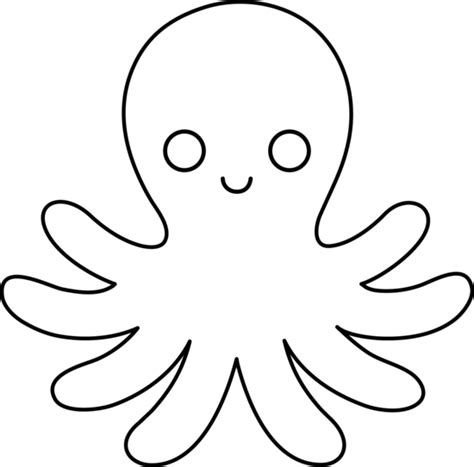 octopus black and white black and white octopus clipart