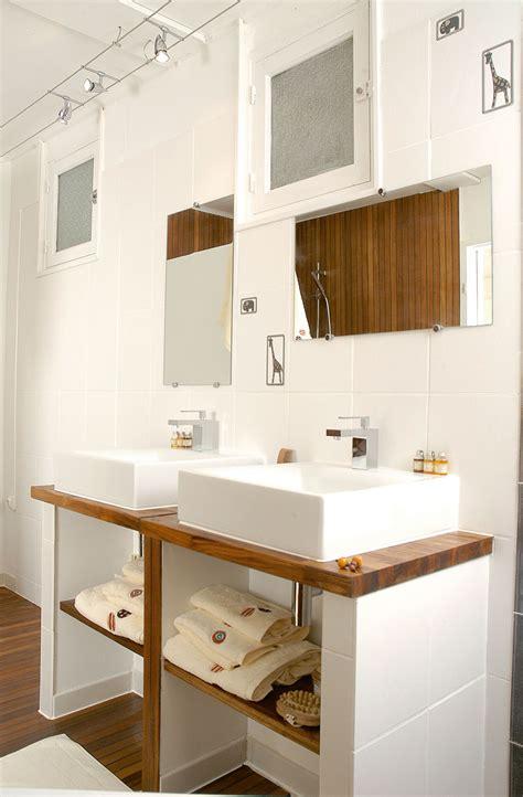 plan salle de bain 26 salle de bains en teck pose des vasques bricolage avec