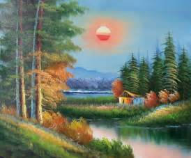 Landscape Pictures To Paint In Oils Paintings Frames