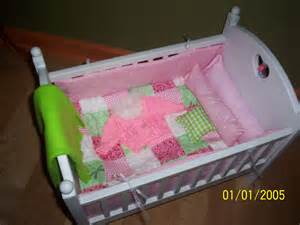 Baby Doll Bed Set Pink Quilt Bitty Baby Doll Crib Bedding Set By Kmblarney On Etsy