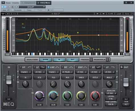 Equalizer Bell Up waves h eq