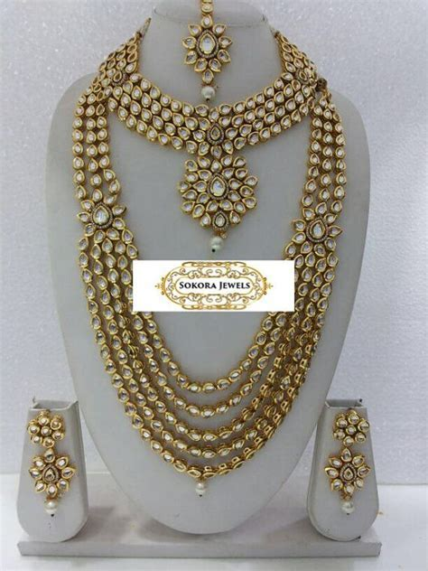 Best 10  Indian bridal jewelry ideas on Pinterest   Indian