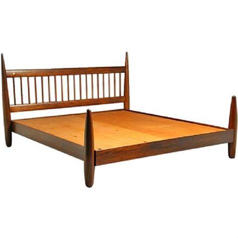 Wood King Bed Frame by King Size Wood Bed Frame By Sergio Rodrigues By