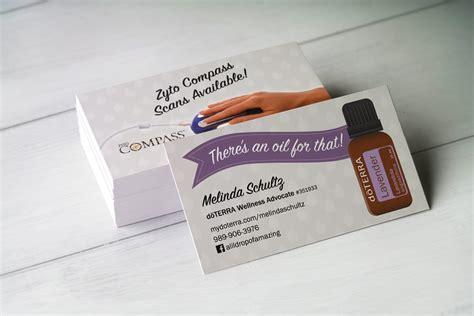 Doterra Business Card Template by Doterra Business Cards Choice Image Business Card Template