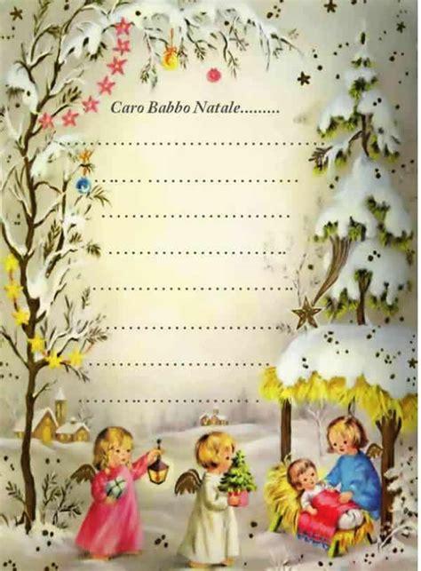 lettere di natale per i genitori letterine per babbo natale e per ges 249 bambino vecchie