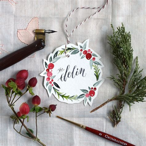 watercolor tutorial christmas watercolor holiday wreath tutorial free printable the