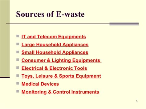 Harmful Household Products e waste management in india