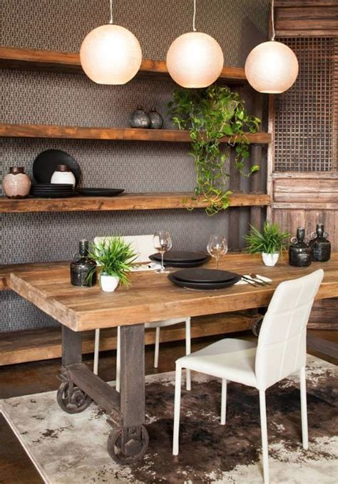 cool industrial dining rooms  zones digsdigs