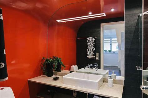 Orange And Black Bathroom by Odenplan S Stunning Modern Stockholm Apartment