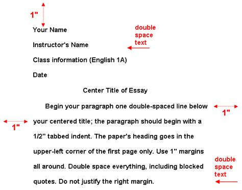 Correct Format For An Essay by Correct Mla Format Writing Essay How To Write An Essay Title In Mla Format