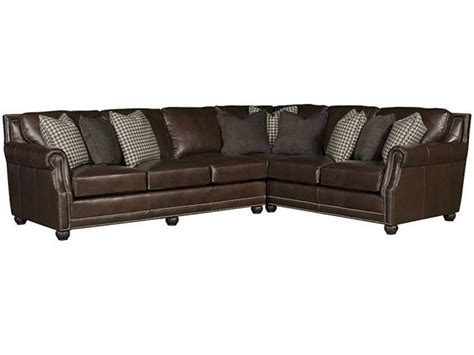 king hickory sectionals king hickory living room julianna leather sectional 3000