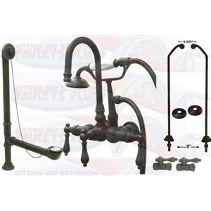 Do Faucets Come With Drains by Kingston Brass Cck7t5 Do Rubbed Bronze Clawfoot Tub