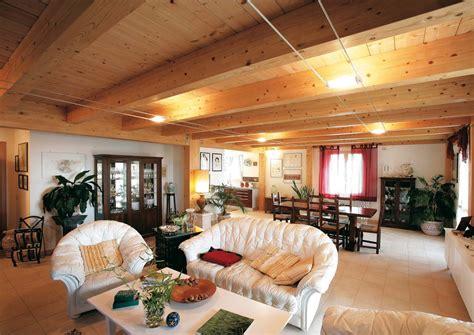 interni legno casa a due piani umbria terni costantini sistema legno