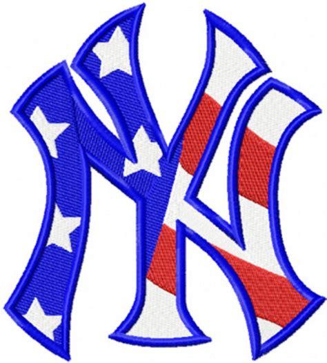 logo embroidery nyc new york yankees flag photo of new york yankees flag