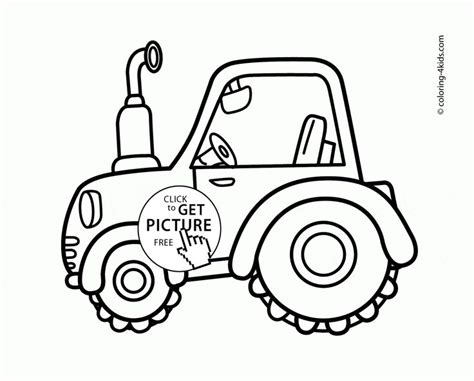 tractor coloring pages preschool best 25 tractor coloring pages ideas on pinterest
