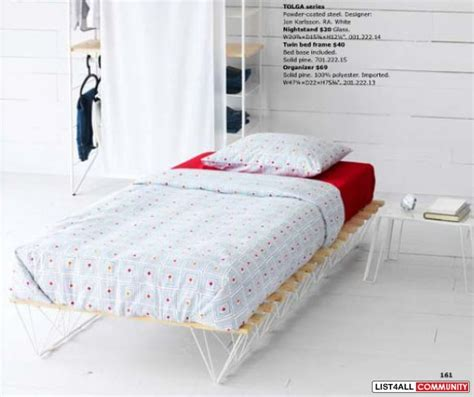 ikea tolga bed frame ikea tolga bed frame coquitlamsale list4all