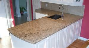Giallo ornamental on white cabinets northern marble amp granite
