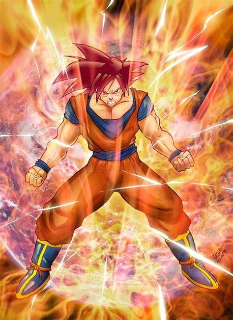 Kaos Vegeta 3d saiyan god goku from anime
