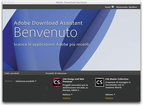 aggiornamento cs6 adobe creative suite 6 disponibile la demo in italiano