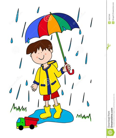 imagenes libres lluvia ni 241 o peque 241 o con el paraguas imagen de archivo libre de