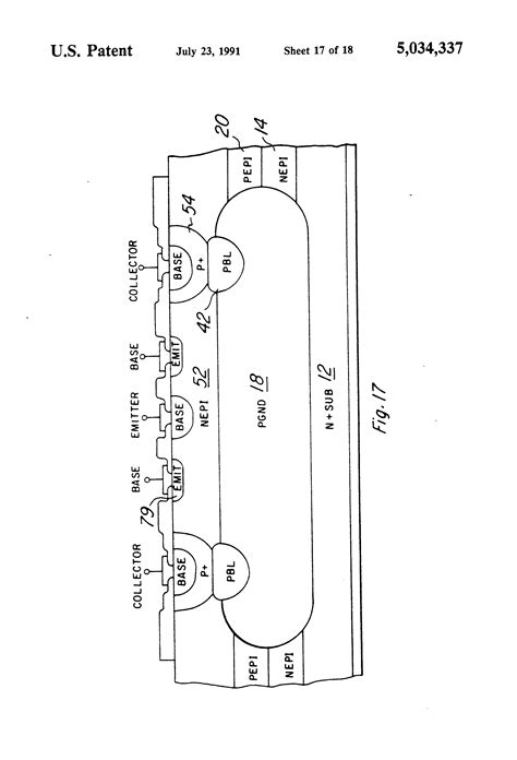 klasifikasi integrated circuit paten us5034337 method of an integrated circuit that combines multi epitaxial power
