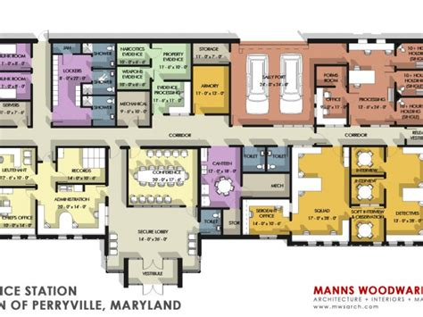 police station floor plans commissioners review perryville police station plan