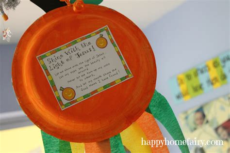christian crafts a christian pumpkin windsock craft free printable