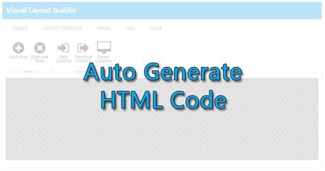 generate html template generate html template image collections free templates
