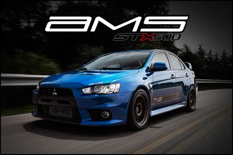 mitsubishi evolution 10 ams mitsubishi lancer evolution x stx500 package