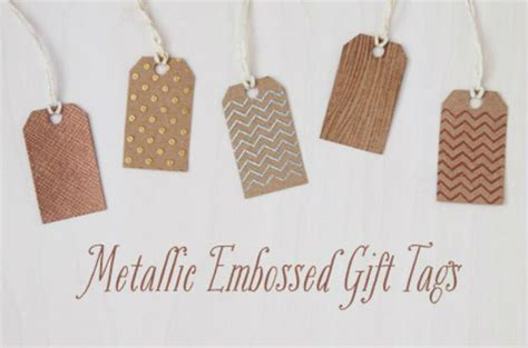 awesome diy gift tag ideas diy projects craft ideas
