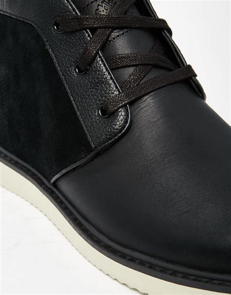 timberland newmarket chukka boots in black for lyst