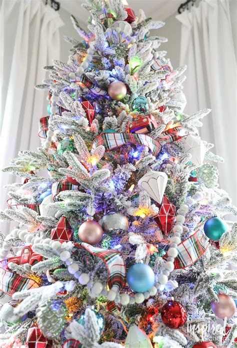 colored lights tree decorating ideas tree decorating ideas with multi colored lights